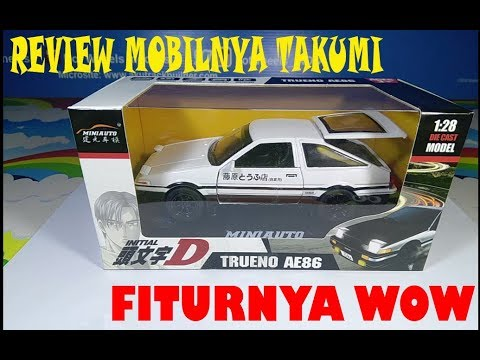 Review Mini Auto Initial D Toyota AE86 TRUENO Indonesia