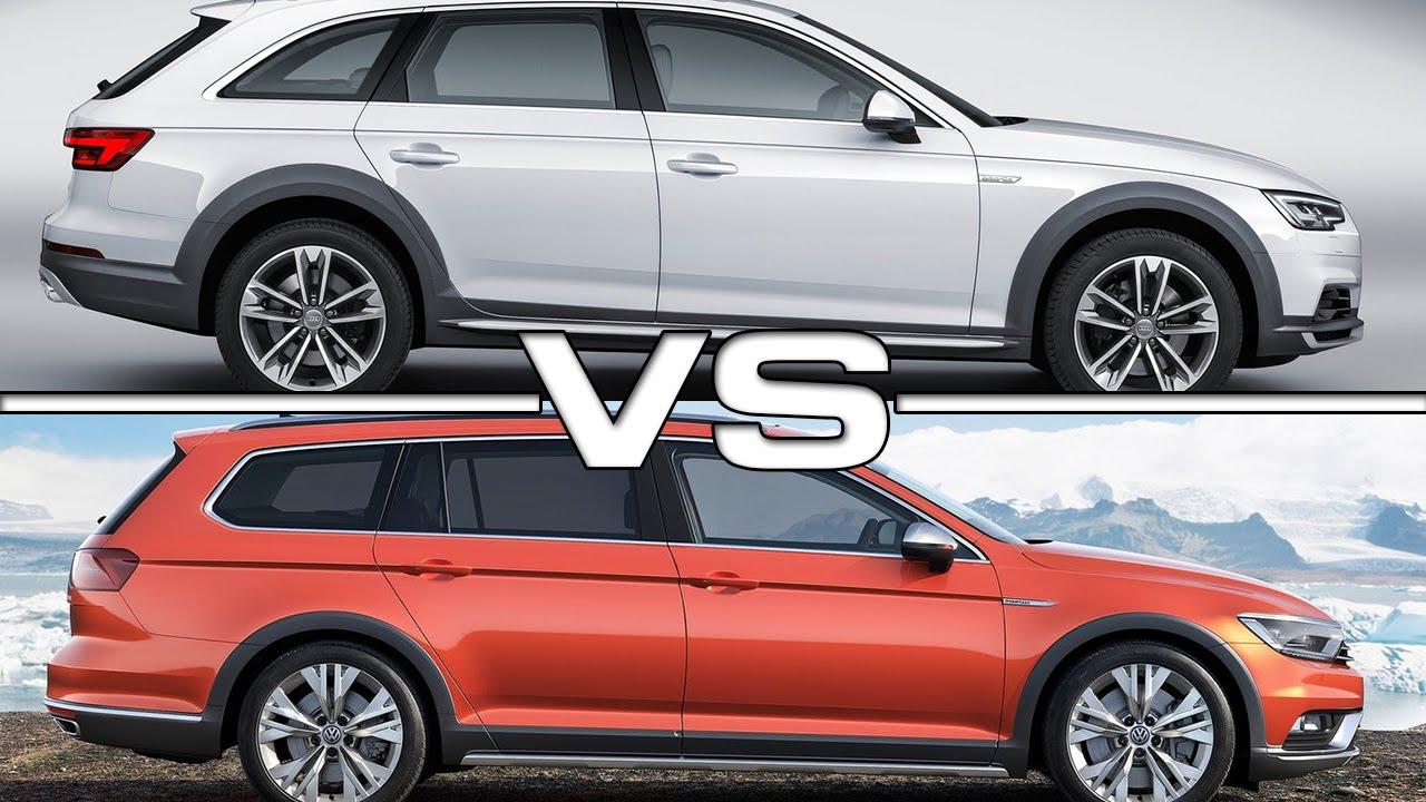 Audi allroad vs vw alltrack