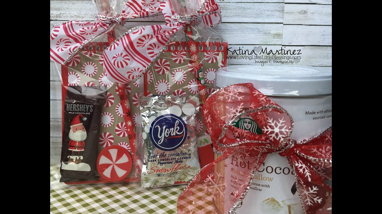 EASY DIY Christmas Class Treats & Teachers Gifts - YouTube