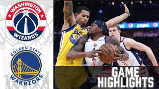 Wizards vs Warriors HIGHLIGHTS Full Game | NBA April 9