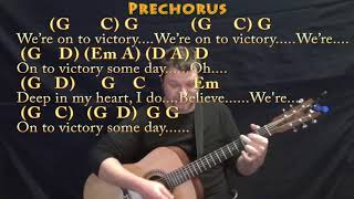 We Shall Overcome (HYMN) Guitar Cover Lesson in G with Chords/Lyrics