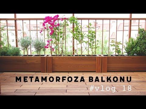 18 Deski Na Taras Metamorfoza Naszego Balkonu