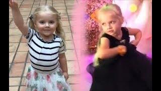 Лиза Галкина танцует. Праздничный музыкальный клип