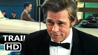 ONCE UPON A TIME IN HOLLYWOOD Trailer (2019) Tarantino, Brad Pitt Movie