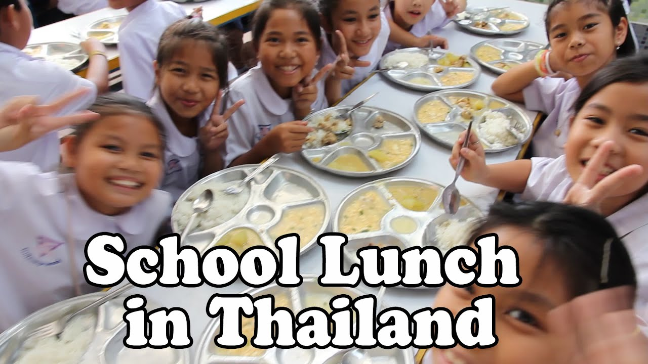 School Lunch in Thai