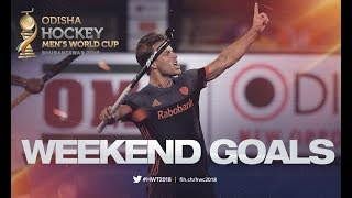 ALL THE GOALS From the Weekend! | Odisha Men's Hockey World Cup Bhubaneswar 2018