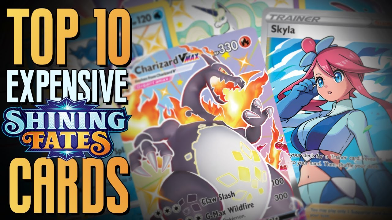 Top 10 Most Expensive Cards from Shining Fates