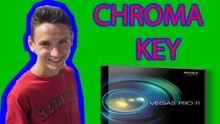 Урок в Sony Vegas Pro 11 - Chroma key
