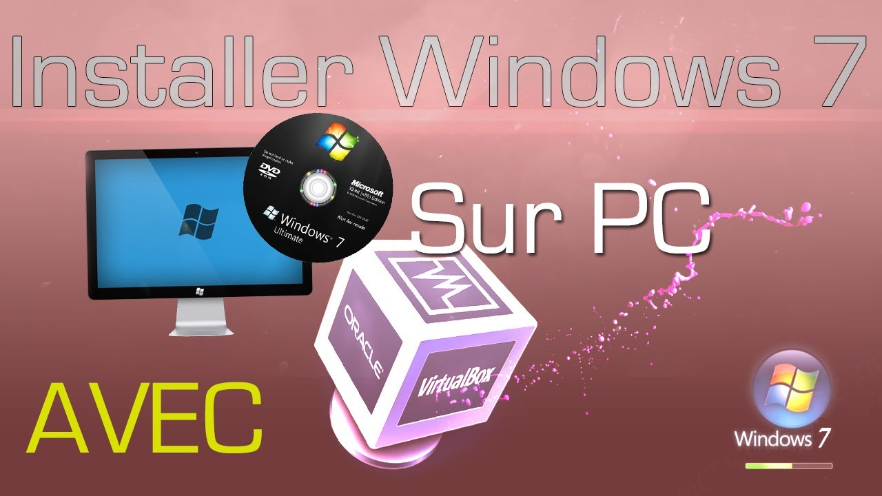comment installer windows 7 sur pc avec virtual box tutorial comment de a z fr hd youtube. Black Bedroom Furniture Sets. Home Design Ideas