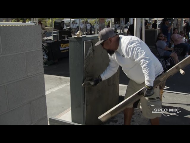 QUIKRETE Wall Systems Demo