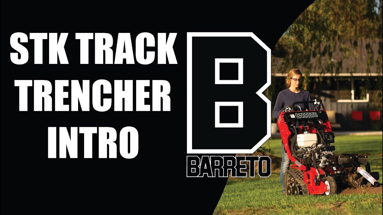 Video Barreto 13stk 16stk Track Trencher