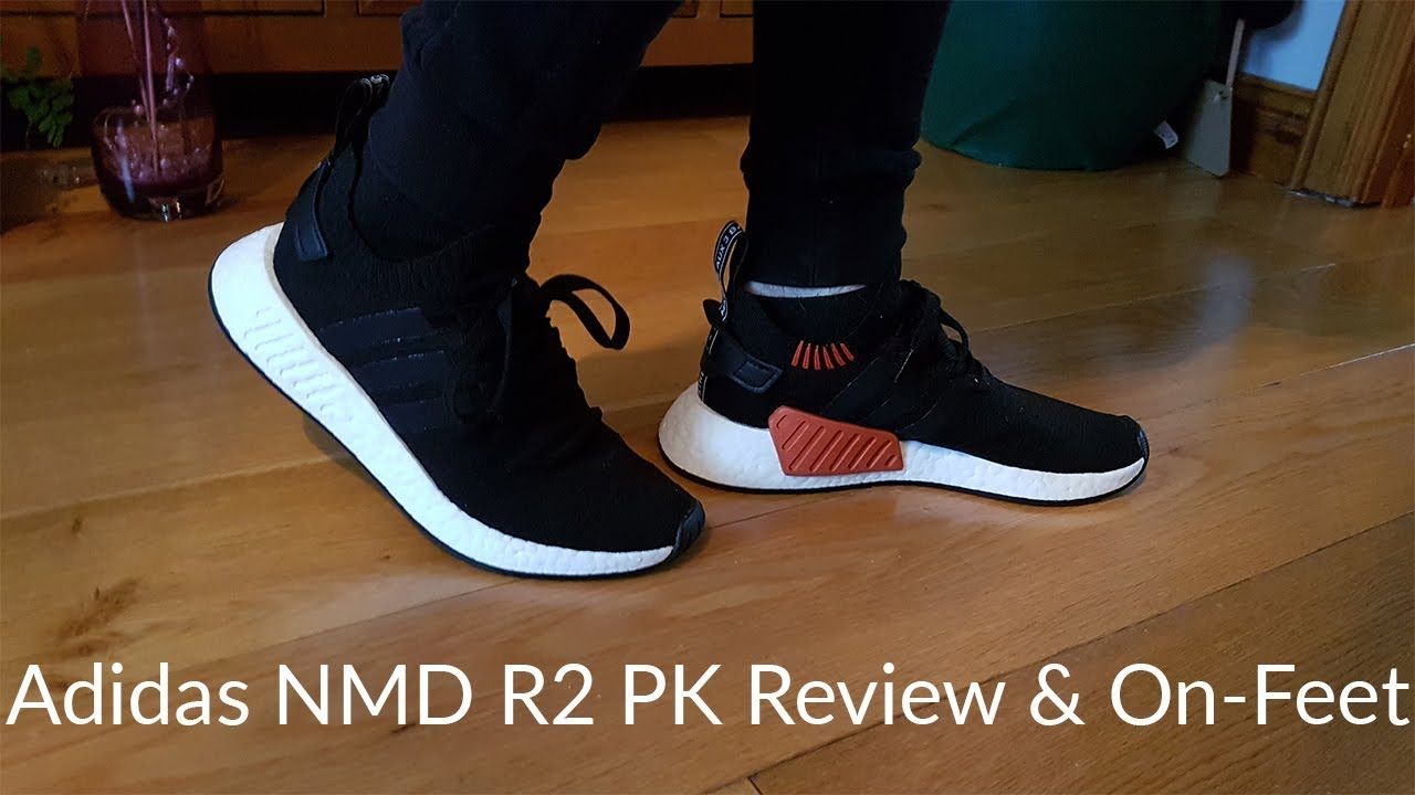 ec1ba4dc04c62 Adidas NMD R2 REVIEW ~ Unboxing + On feet - YouTube
