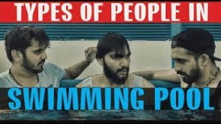 Types of people in Swimming pool | Karachi Vynz | Sham Idrees | Shahveer Jafry | Zaid Ali.