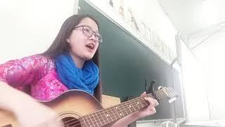 Quê tôi - guitar - học sinh dễ thương