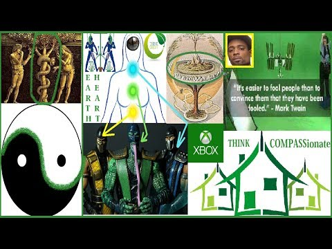 """Secrets of the """"Reptilian"""" Eye Revealed: Earth Is The Heart Chakra Think Green NOT Green Screens!"""