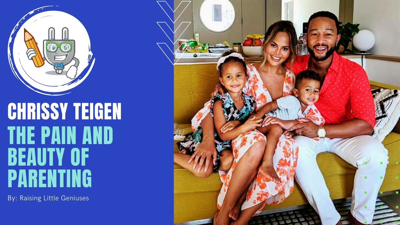 Chrissy Teigen's Motherhood Journey| Raising Little Geniuses
