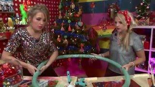 KnutselTV - DIY kerstkrans 🎄