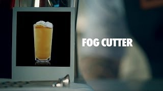FOG CUTTER DRINK RECIPE - HOW TO MIX