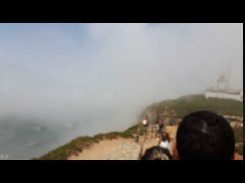 The Atlantic Ocean winds carried beautiful mists across the land around Cabo Da Roca