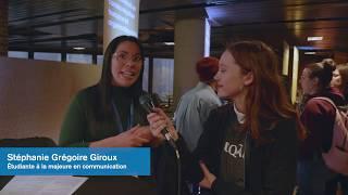 Vox pop : un projet que j'ai accompli à l'UQAM