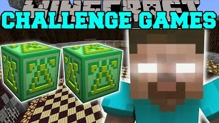 Minecraft: HEROBRINE FIGHT CHALLENGE GAMES - Lucky Block Mod - Modded Mini-Game