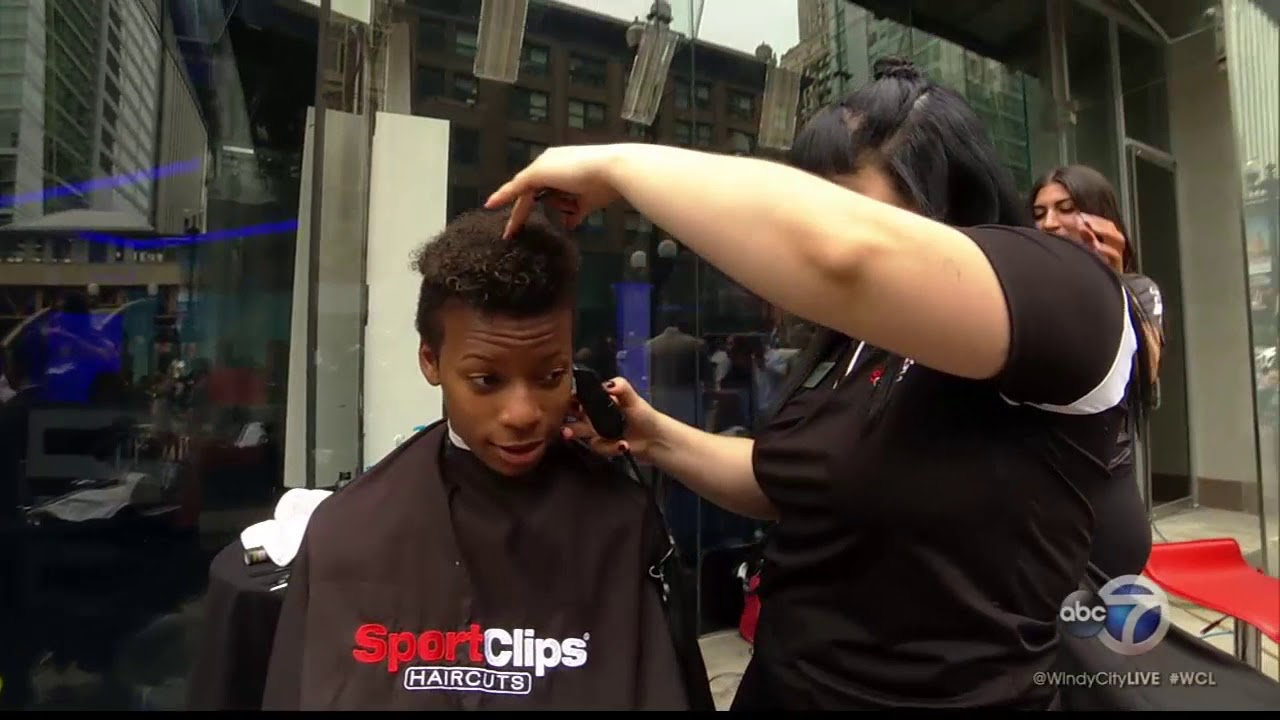 sport clips gives mvp experience with men's haircuts