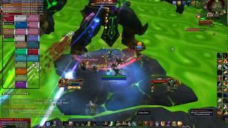 World of Warcraft: Legion. Гробница Саргераса обычный режим Аватара Падшего