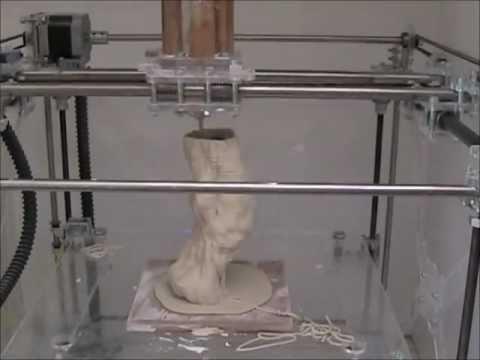 3d Ceramic Printing Youtube