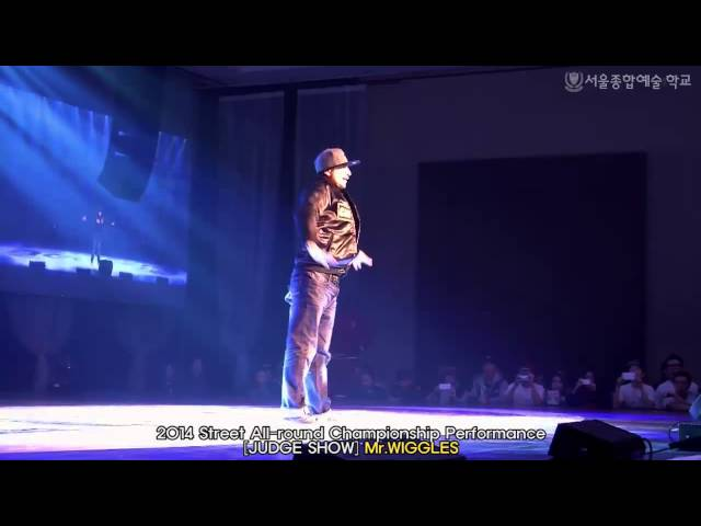 [Mr.Wiggles] JudgeShow / 2014 Street All-round Championship Performance