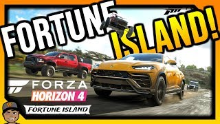 Forza Horizon 4 Live: First Look At Fortune Island!