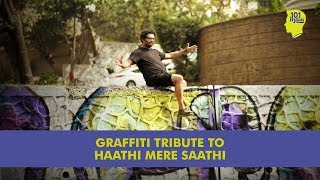 A South African Graffiti Artist's Tribute To Haathi Mere Saathi | Unique Stories From India
