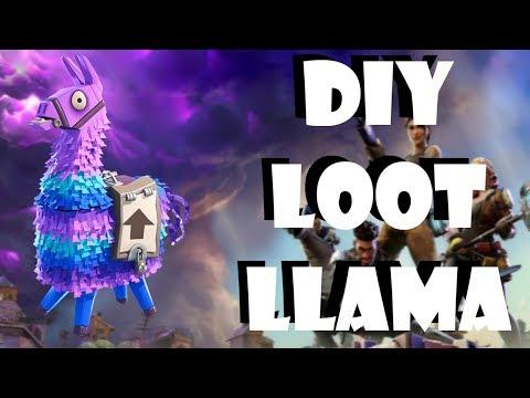 DIY Fortnite -Loot Llama