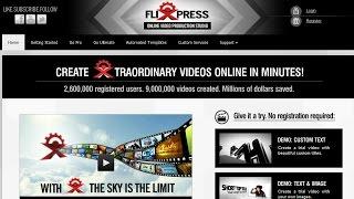 Как бесплатно создать заставку для видео(Оригинал статьи находится по адресу - http://goo.gl/Un79Fv Ссылка на сервис - http://www.flixpress.com/ Для создания простой..., 2015-05-05T17:01:36.000Z)
