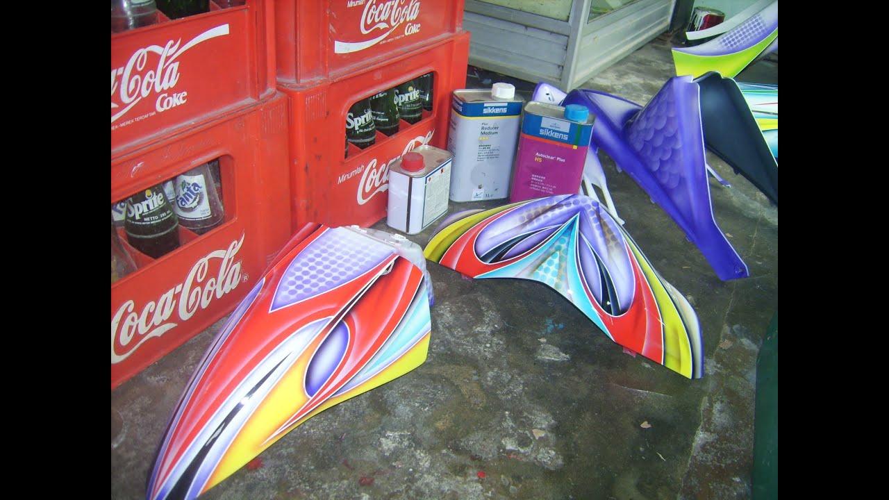 modifikasi mio airbras terbaru