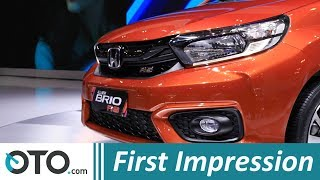Honda Brio RS | First impression | GIIAS 2018 | OTO.com