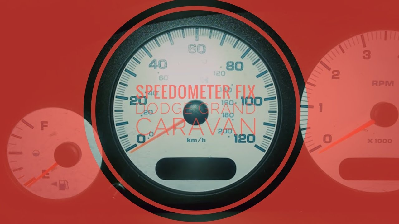 Easy Fix For Broken Speedometer 2003 Dodge Grand Caravan
