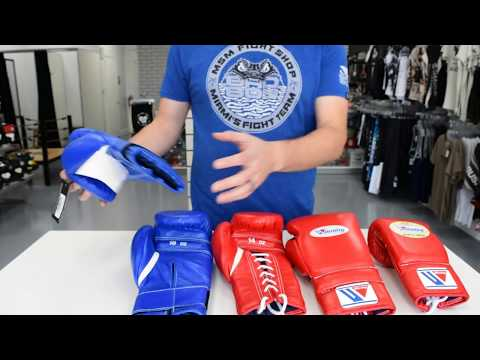 Winning Boxing Gloves Review Lace 14oz MS400 & Velcro 16oz