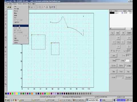 LaserCut 5.3 Software Tutorial Part4 (English) thumbnail