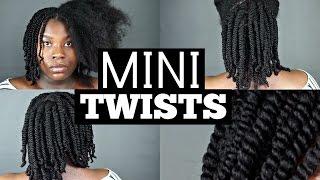Mini Twists Hair Tutorial ft. HHJ Army | Type 4 | Bubs Bee