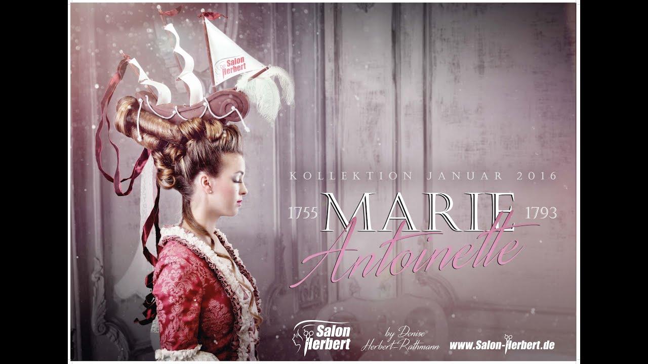 Marie Antoinette Hairstyle Und Make Up La Belle Poule Schiff Frisur Von Salon Herbert