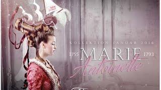 Marie Antoinette Hairstyle und make-up ´la belle Poule´ Schiff Frisur von Salon Herbert