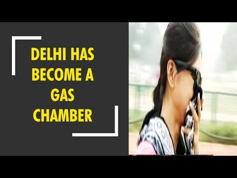 India's capital New Delhi has become a gas chamber