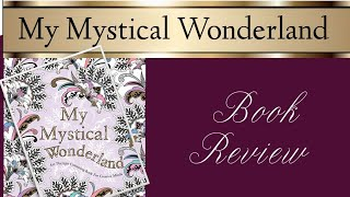 My Mystical Wonderland colouring book review / look through