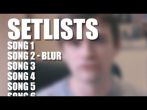 How To Build A Gig Setlist