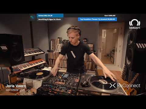 Joris Voorn Own Tracks And Remixes Vinyl DJ Set @ ReConnect | Beatport Live