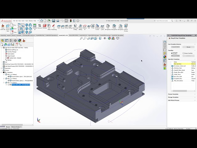SolidCAM CAM Software: 2 5D Milling
