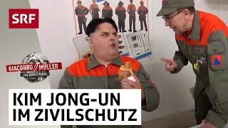 Kim im Zivilschutz | Giacobbo / Müller | SRF Comedy
