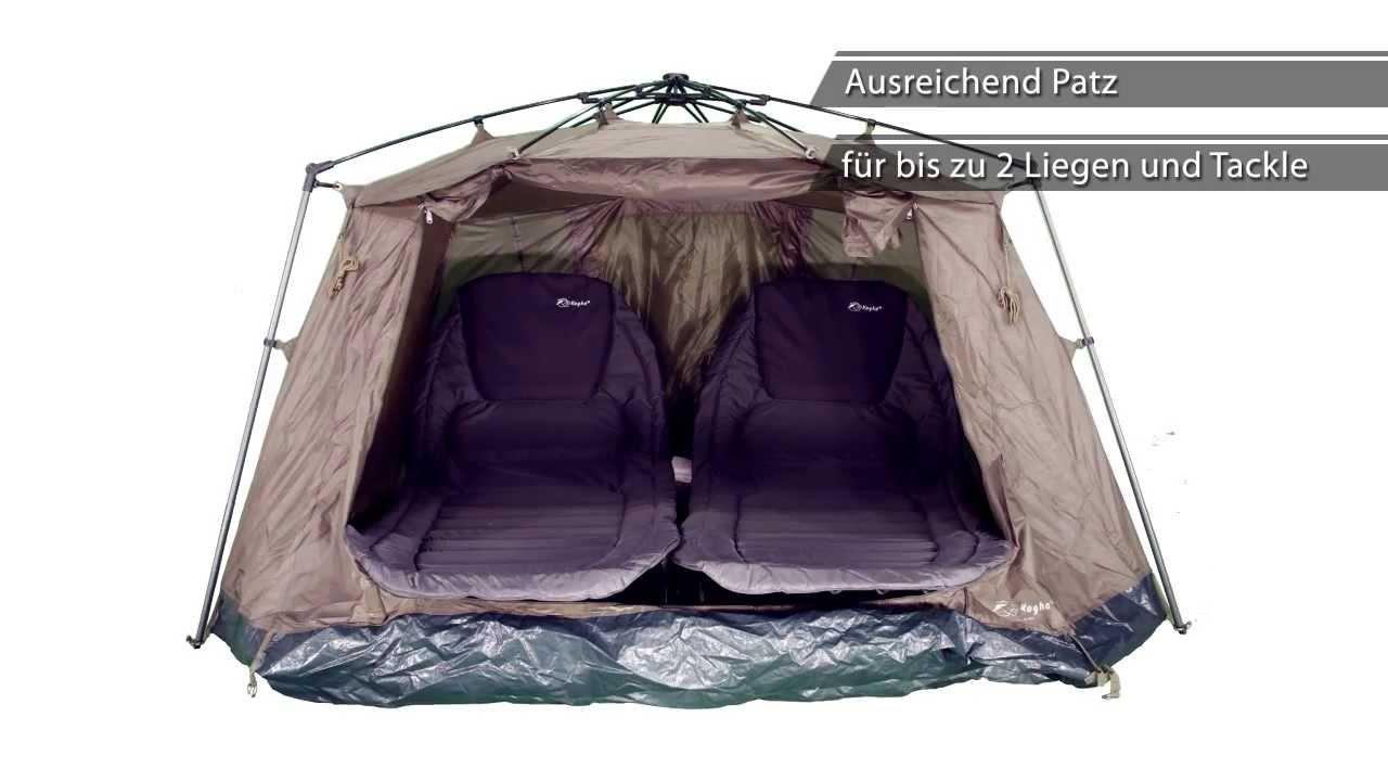 140929 kogha ruckzuck 2 mann zelt youtube. Black Bedroom Furniture Sets. Home Design Ideas