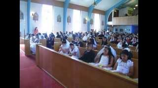 First Communion at Saints Cyril and Methodius PNCC Chicago 2013   (1)