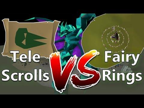 Zulrah Teleport Scrolls Vs Fairy Ring Shortcut (You'll Be Surprised)